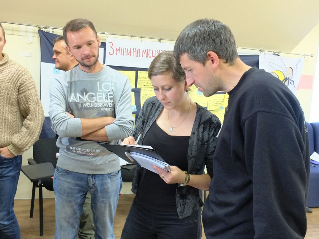 Активісти Чернігівщини шукали шляхи як спільно впроваджувати зміни в своїх громадах
