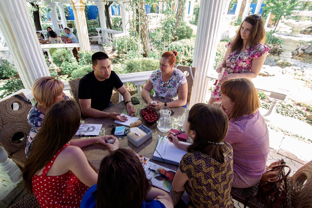 Навчальні візити для громадських активістів Донецької та Луганської областей